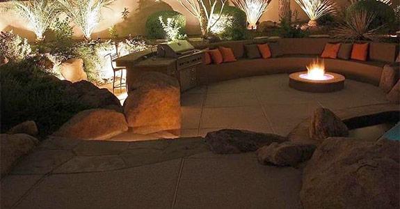Custom Lighting Palm Desert CA